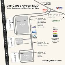 American Airlines Floor Plan Los Cabos Mexico Airport Map Terminal Information Airlines Location