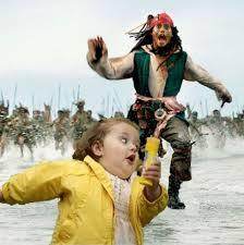 Bubble Girl Meme - bubble girl pirates shivisays