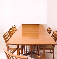 danish modern dining table and chairs ebth