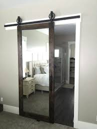 Bedroom Barn Doors Love This Mirrored Barn Door For A Master Bedroom Bedroom
