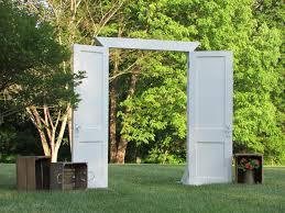 wedding arch using doors 16 best prop doors images on a frame cabin door