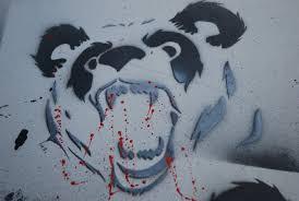 tribal blue panda tattoo sketch tattoobite com