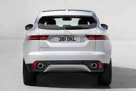 all new 2018 jaguar e pace previewed in astonishing barrel roll
