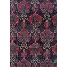 pink arabella floral rug wayfair