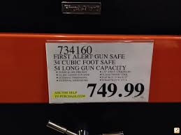 gun safe black friday first alert 54 gun safe at costco calguns net