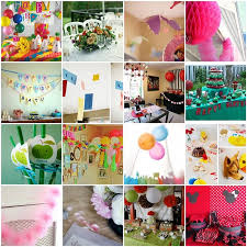 kids birthday party decoration ideas at home superb some birthday party decoration ideas balloons with birthday