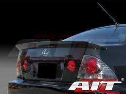 lexus is300 trd trd style carbon fiber rear spoiler for lexus is300 2000 2005