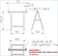 Drafting Table Support How To Build A Ping Pong Table 9 Steps