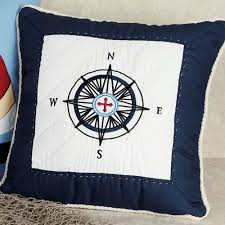 sail away nautical decorative pillows