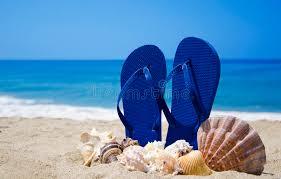 seashell flip flops flip flops with seashells on stock image image of