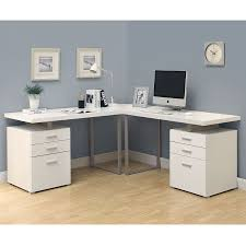 Modern L Desk Carey White Modern L Desk Eurway Modern Furniture