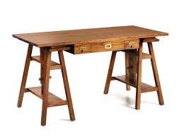 table bureau bois bureau d architecte en bois de collection mawan