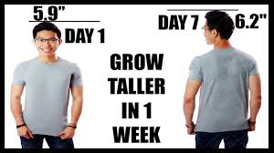 how to grow taller in a week exercise to grow taller how to grow taller faster increase