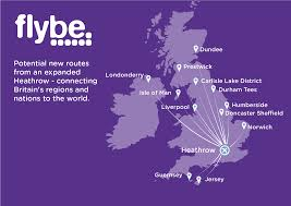 Flight Routes Map by New Destinations Heathrow Expansion