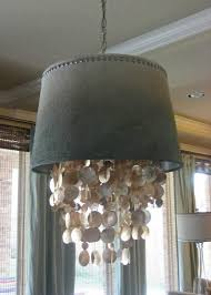 diy shell chandelier chandelier amazing shell chandeliers extraordinary shell