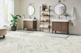 is vinyl flooring for a bathroom bathroom flooring guide armstrong flooring residential