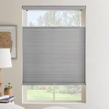 Gray Blinds Cordless Top Down Bottom Up Cellular Shades Selectblinds Com