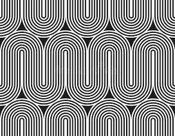 vector seamless pattern modern stylish texture geometric striped
