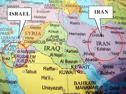 Map Of Israel Map Of Israel And Iran World Maps