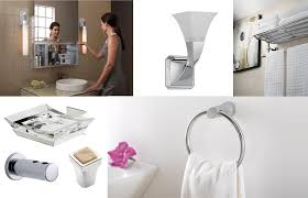 Designer Bathroom Accessories Sleek Chic Bathroom Accessories Interior Design Center Of St