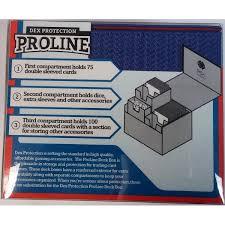 dex protection proline deck box large black