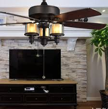 Dining Room Ceiling Fan by 52inch American Fashion Loft Led Ceiling Fan Light Led Fan Light