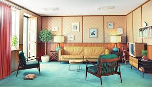 70s decorating style home design ideas