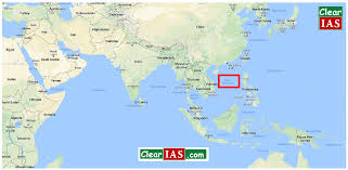 South China Sea Map India China Border Disputes What Is The Doklam Issue Clear Ias