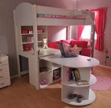 High Sleeper Bed With Desk And Sofa High Sleeper Sofa Bed Pull Out Desk Storage Www Energywarden Net