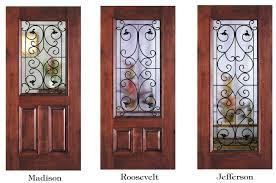glass wood doors wrought iron series wood doors signature door inc