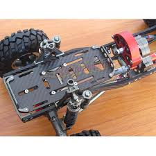 jeep rock crawler rc amazon com aolly rc scx10 1 10 scale 4wd rock crawler chassis