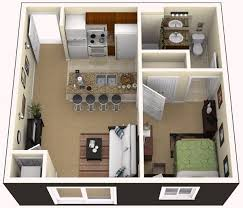 One Bedroom Apartment For The Home Pinterest Bedroom - Design one bedroom apartment