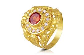 men rings maharaja mens gold ring smga 0194 men rings jewellery