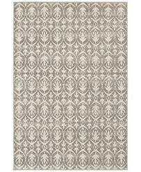closeout jhb design soleil tree grey rugs macy s