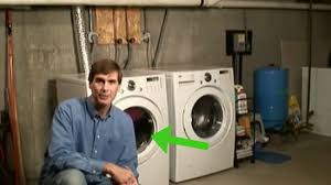Washing Machine That Hooks Up To Faucet How To Hook Up A Washer And Dryer With Pictures Wikihow