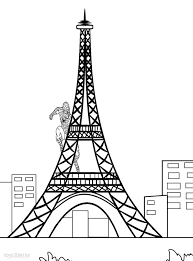 Printable Eiffel Tower Coloring Pages For Kids Cool2bkids Coloring Pages For Boys And Printable