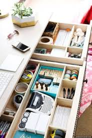 Organizing Desk Drawers Organized And Functional Office Supply Drawers Kelley Nan
