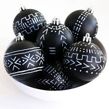 craft it mud cloth inspired ornaments a kailo chic
