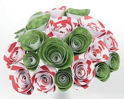 christmas tree and candy cane bouquet 21 holiday paper