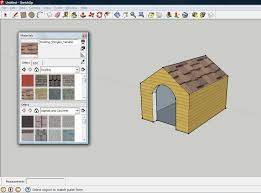 Home Design Software Google Sketchup How To Design A Dog House In Sketchup 10 Steps With Pictures