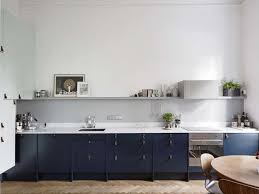 navy blue kitchen cabinets with black handles trend alert the cult of the blue kitchen 10 favorites