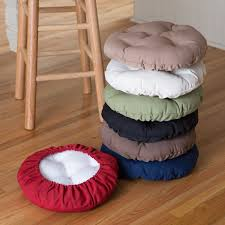 deauville 13 in round backless bar stool seat cushion hayneedle