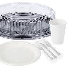 Decorative Plastic Plates Catering Equipment Catering Supplies