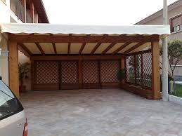 tettoia auto legno tettoie per giardino in legno lamellare