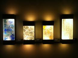 Ceiling Art Lights by Wall Art With Led Lights The Art Of The Future Warisan Lighting