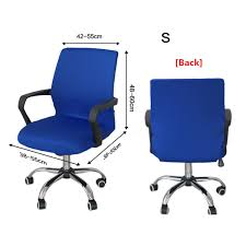 Armchair Protector Swivel Computer Chair Cover Stretch Office Armchair Protector Seat