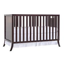 Chelsea Convertible Crib On Me Madrid 5 In 1 Convertible Crib Chocolate