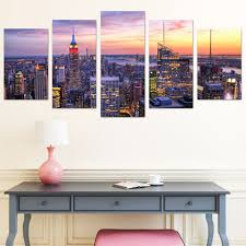 Wall Art Images Home Decor City Center Pvc Print Abstract Wall Decor For Home Decoration 25cm