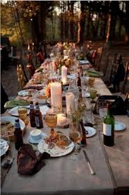 Christmas Table Decorating Rustic by 18 Best Outdoor Christmas Table Decoration Images On Pinterest
