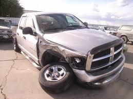 wrecked dodge dakota for sale 2004 dodge ram 1500 4 7l v8 2wd 5 45rfe 5spd salvage truck parts